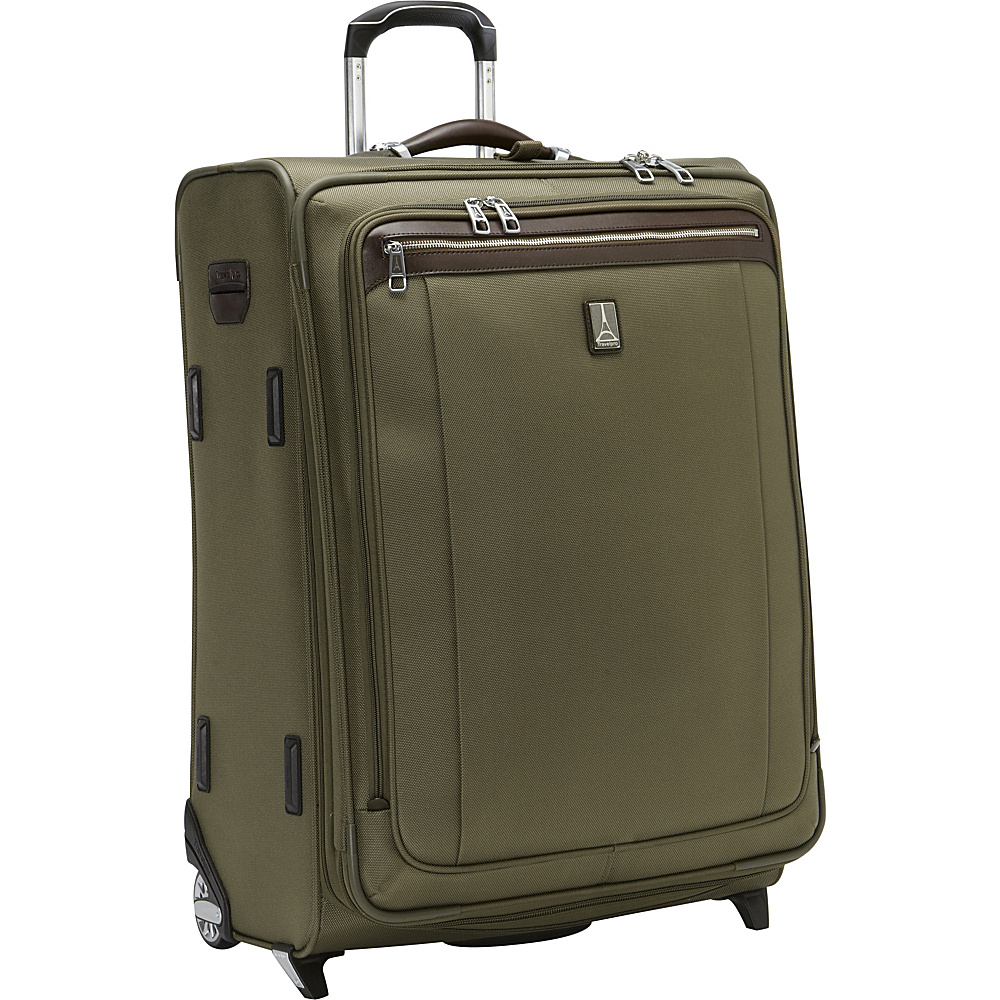 Travelpro Platinum Magna 2 26 Expandable Rollaboard Olive Travelpro Softside Checked