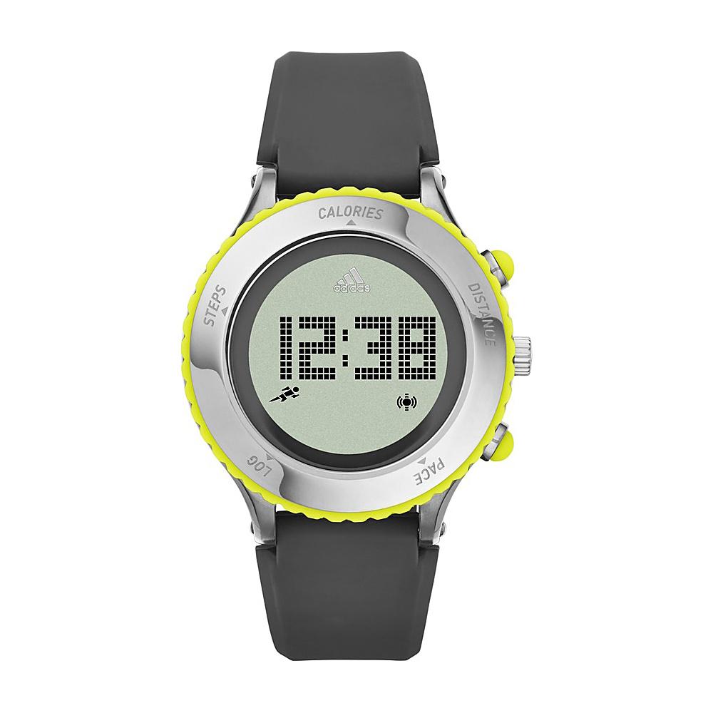 adidas watches Urban Runner Digital Silicone Watch Grey - adidas watches Watches