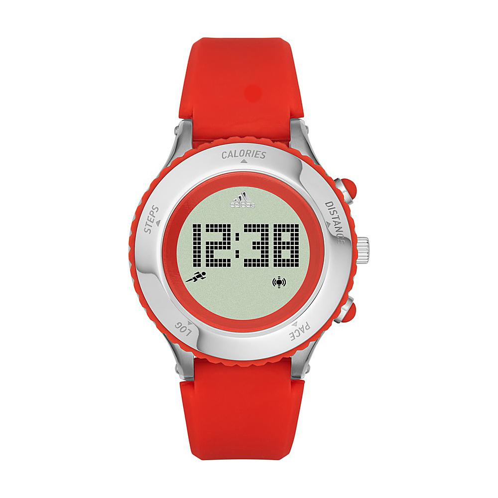 adidas watches Urban Runner Digital Silicone Watch Red - adidas watches Watches