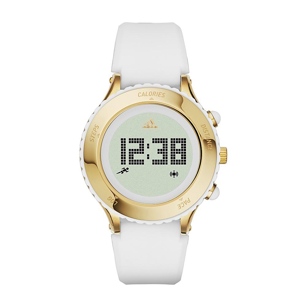 adidas watches Urban Runner Digital Silicone Watch White - adidas watches Watches