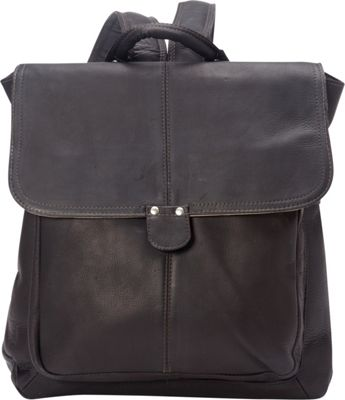 Le Donne Leather Saddle Backpack Cafe - Le Donne Leather Leather Handbags