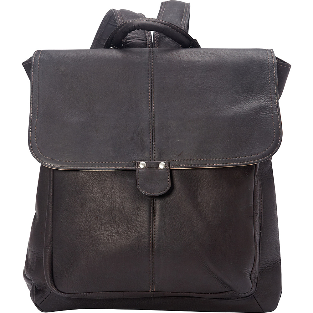 Le Donne Leather Saddle Backpack Cafe - Le Donne Leather Leather Handbags - Handbags, Leather Handbags