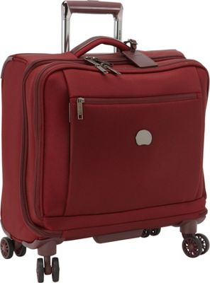 Delsey Montmartre+ Spinner Trolley Tote Bordeaux - Delsey Softside Carry-On