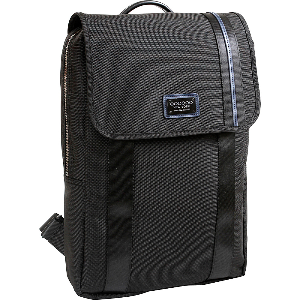 J World New York Madison Business Backpack Black - J World New York Business & Laptop Backpacks - Backpacks, Business & Laptop Backpacks