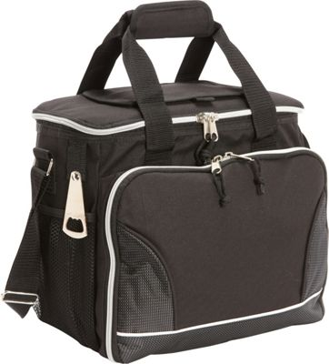 Image of Bellino 24 Pack Cooler with Tray Black - Bellino Travel Coolers
