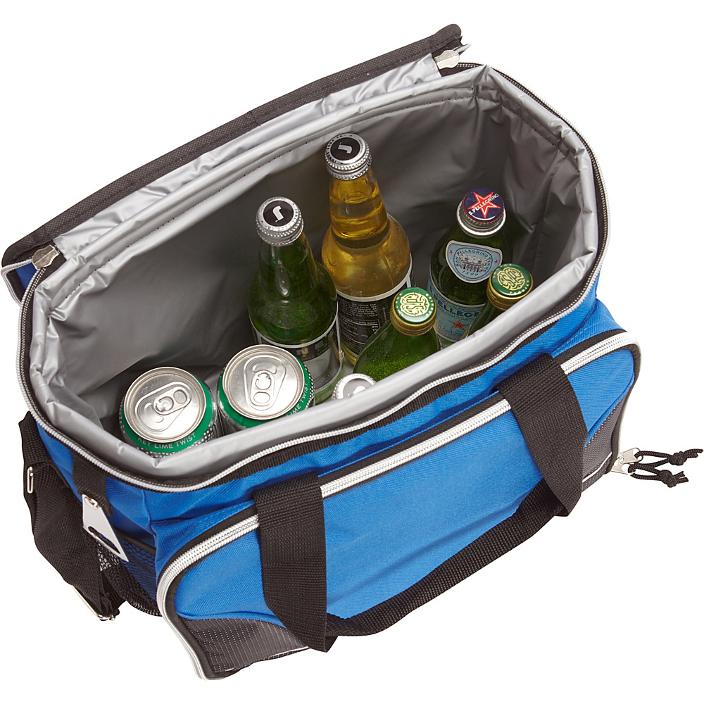 Bellino 24 Pack Cooler with Tray Black - Bellino Travel Coolers