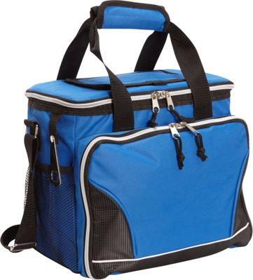 Image of Bellino 24 Pack Cooler with Tray Blue - Bellino Travel Coolers