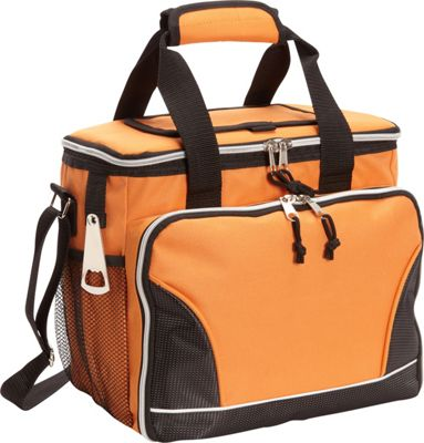 Image of Bellino 24 Pack Cooler with Tray Orange - Bellino Travel Coolers