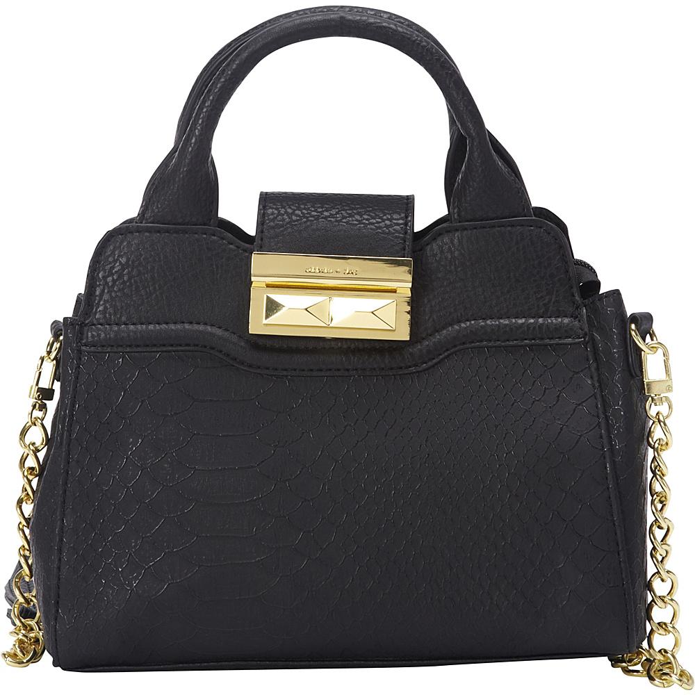 40 79 More Details Olivia Joy Nadiya Mini Satchel Black Manmade Handbags
