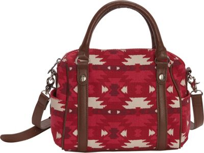 Sloane Ranger Mini Satchel Aztec - Sloane Ranger Fabric Handbags