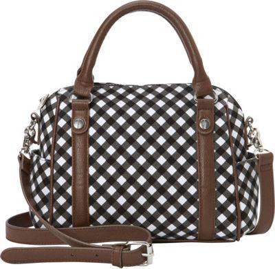 Sloane Ranger Mini Satchel Gingham - Sloane Ranger Fabric Handbags
