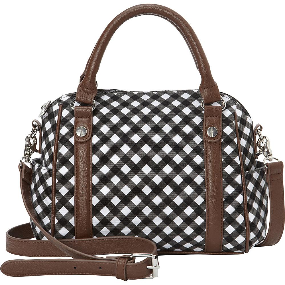 Sloane Ranger Mini Satchel Gingham Sloane Ranger Fabric Handbags