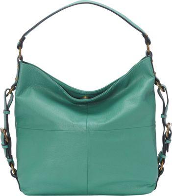 Donna Bella Designs Lucinda Shoulder Bag Green - Donna Bella Designs Manmade Handbags