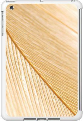Centon Electronics OTM Glossy White iPad Mini Case Feather Collection - Gold - Centon Electronics Electronic Cases