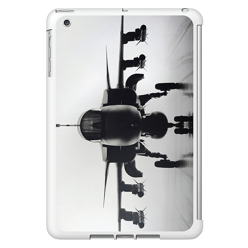 Centon Electronics OTM Glossy White iPad Mini Case Rugged Collection Airplane Centon Electronics Electronic Cases