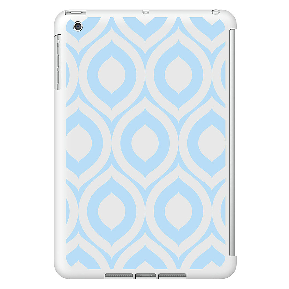 Centon Electronics OTM Glossy White iPad Mini Case Elm Collection Sky Blue Centon Electronics Electronic Cases