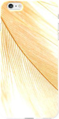 Centon Electronics OTM Glossy White iPhone 6 Plus Case Feather Collection - Gold - Centon Electronics Electronic Cases