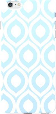 Centon Electronics OTM Glossy White iPhone 6 Plus Case Elm Collection - Sky Blue - Centon Electronics Electronic Cases