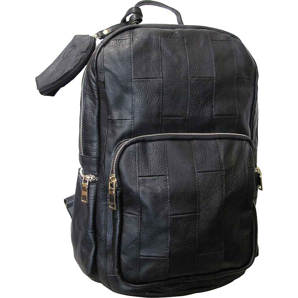 AmeriLeather Xanadu Leather Backpack Black - AmeriLeather Everyday Backpacks - Backpacks, Everyday Backpacks