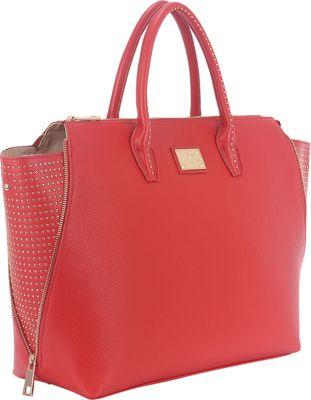Sandy Lisa Milan Wing Tote Red - Sandy Lisa Women's Business Bags