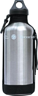 New Wave 40oz Stainless Steel Personal Water Bottle Brushed Stainless Steel - New Wave Hydration Packs and Bottles