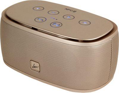 Lyrix RUSH Wireless Bluetooth Speaker Gold - Lyrix Headphones & Speakers