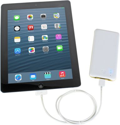 ChargeIt 6500 mAh Power Bank White - ChargeIt Portable Batteries & Chargers