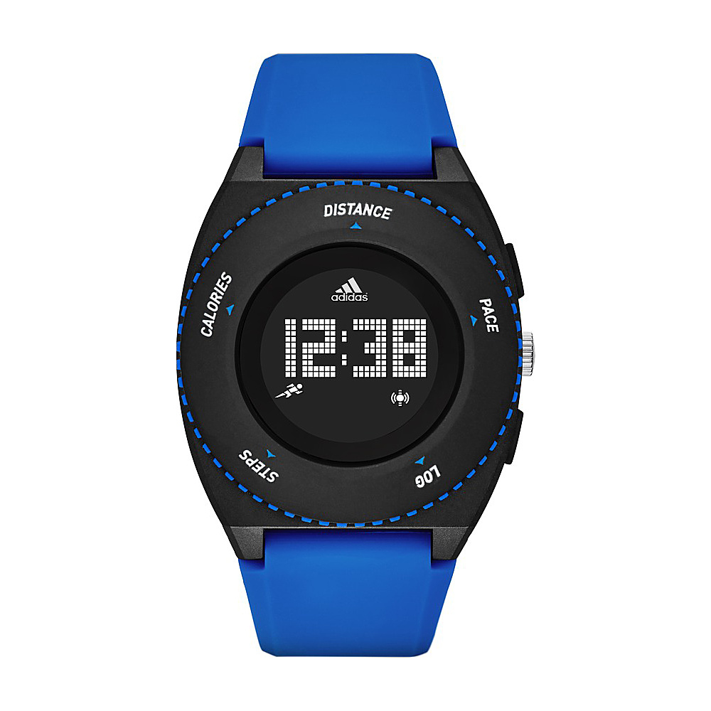 adidas watches Sprung Mid Digital Silicone Watch Blue - adidas watches Watches