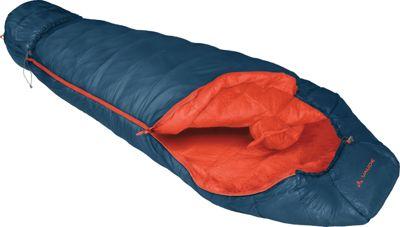 Vaude Arctic 450 Primaloft Sleeping Bag Blue- Left - Vaude Outdoor Accessories