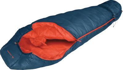 Vaude Arctic 450 Primaloft Sleeping Bag Blue- Right - Vaude Outdoor Accessories