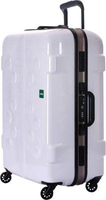 Lojel Carapace Medium Spinner White - Lojel Hardside Checked