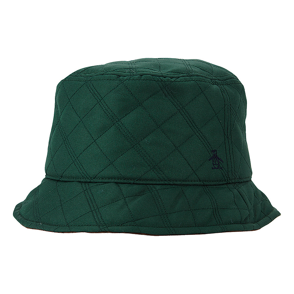 Original Penguin Dale Bucket Hat Chive Small Medium Original Penguin Hats Gloves Scarves