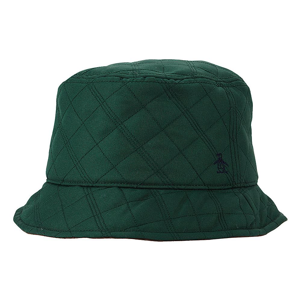 Original Penguin Dale Bucket Hat L/XL - Chive - Original Penguin Hats/Gloves/Scarves