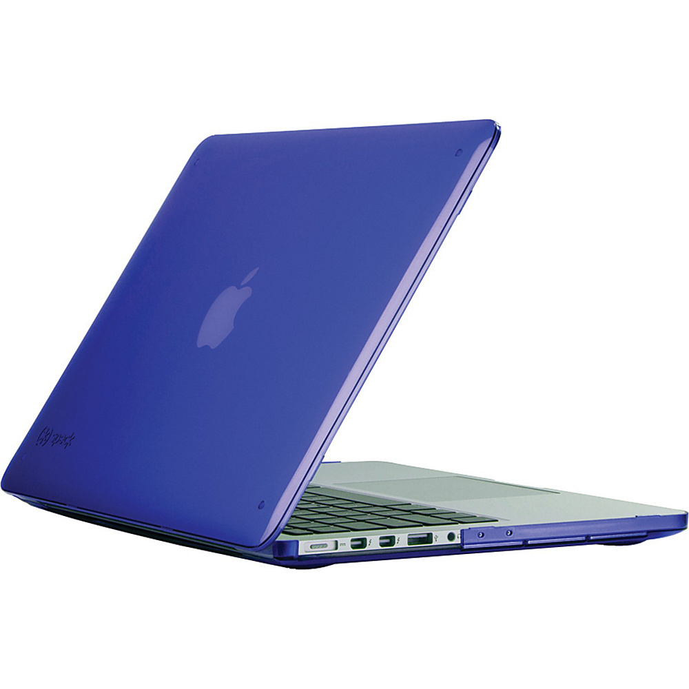Speck 13 MacBook Pro With Retina Display Seethru Case Cobalt Blue Speck Non Wheeled Business Cases
