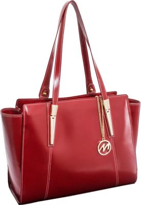 McKlein USA McKlein USA Aldora Tote Red - McKlein USA Women's Business Bags