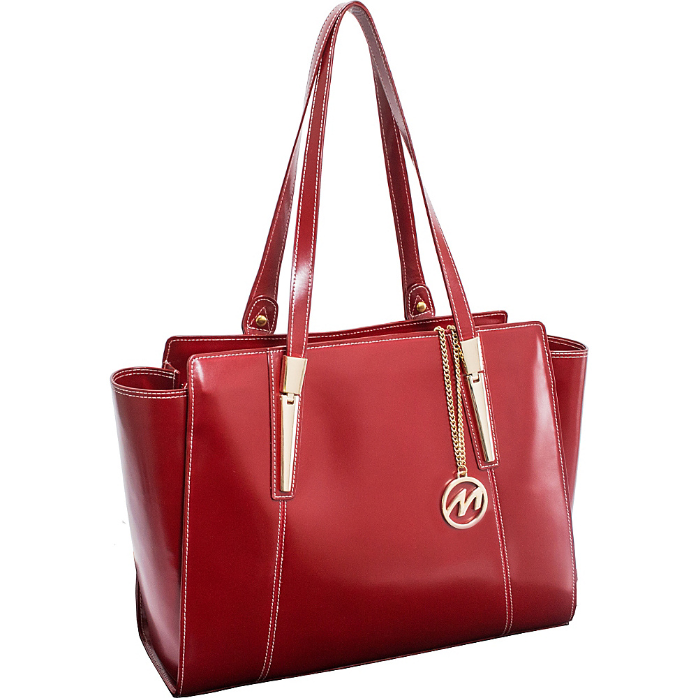 McKlein USA Aldora Tote Red McKlein USA Women s Business Bags