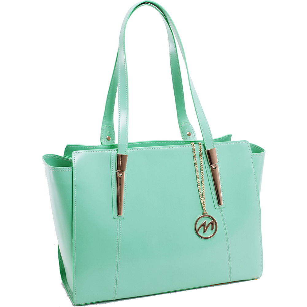 McKlein USA Aldora Tote Mint McKlein USA Women s Business Bags