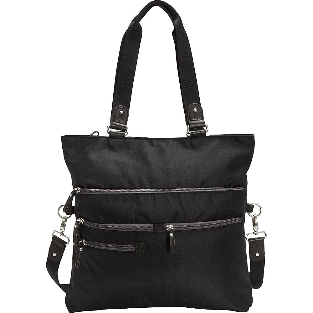 Osgoode Marley Convertible Tote Black Osgoode Marley Fabric Handbags