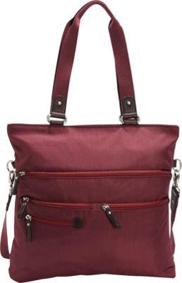 Osgoode Marley Convertible Tote Cranberry - Osgoode Marley Fabric Handbags