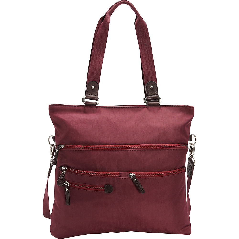 Osgoode Marley Convertible Tote Cranberry Osgoode Marley Fabric Handbags
