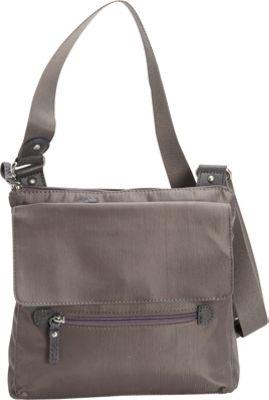 Osgoode Marley Flapped Crossbody Storm - Osgoode Marley Fabric Handbags