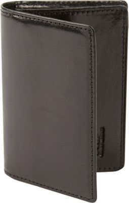 Tanners Avenue Premium Leather Card Case Black - Tanners Avenue Men's Wallets