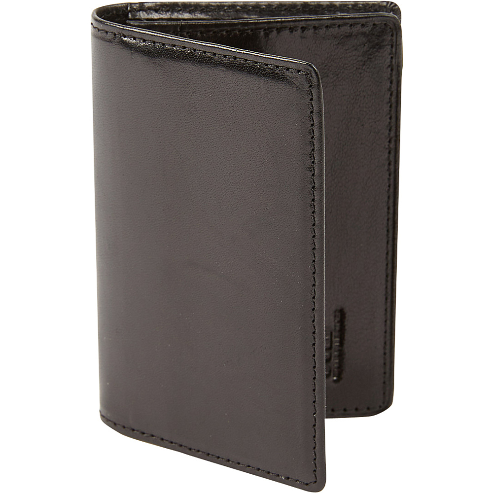 Tanners Avenue Premium Leather Card Case Black Tanners Avenue Men s Wallets