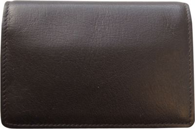Tanners Avenue Premium Leather Gusset Card Case Espresso Brown - Tanners Avenue Men's Wallets