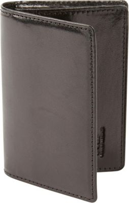 Tanners Avenue Tanners Avenue Premium Leather Gusset Card Case Black - Tanners Avenue Men's Wallets