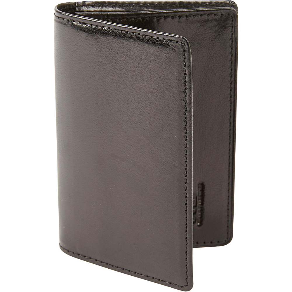 Tanners Avenue Premium Leather Gusset Card Case Black Tanners Avenue Men s Wallets