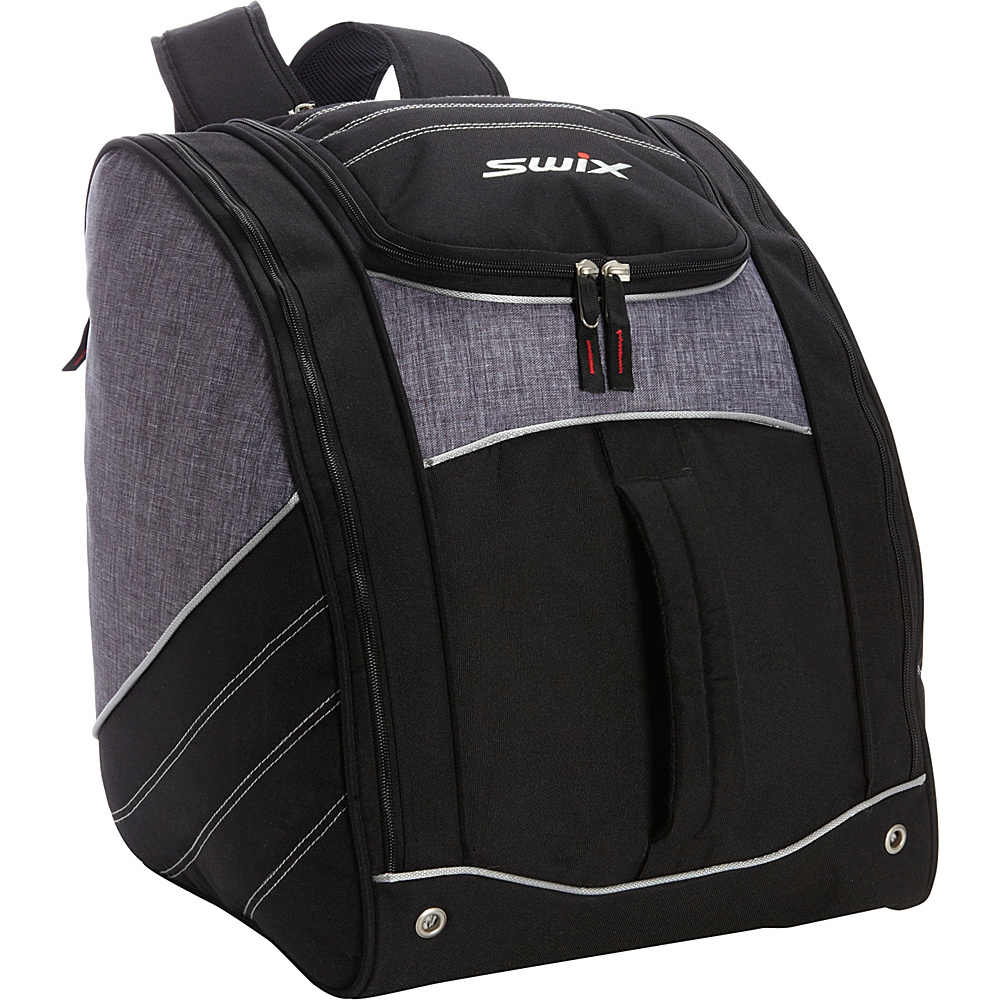 Swix Road Trip Low Pro Tripack Grey Flannel Swix Ski and Snowboard Bags