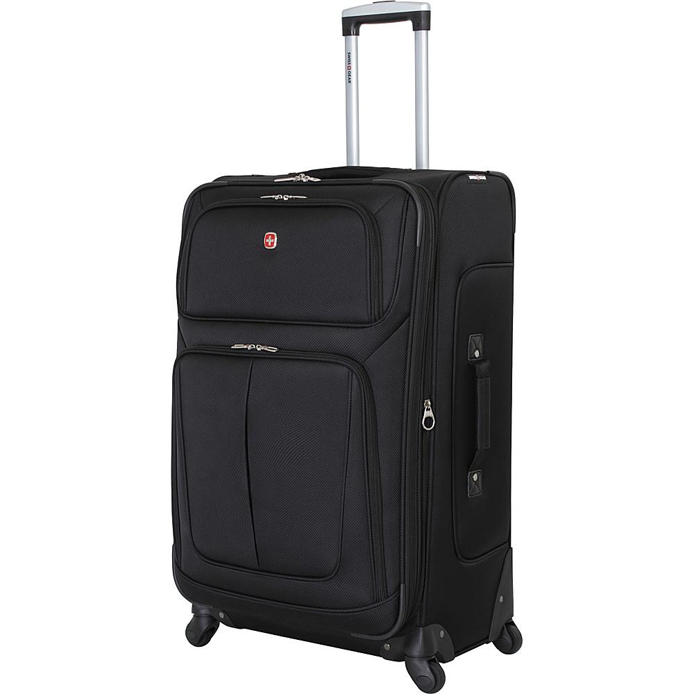 SwissGear Travel Gear 29 Spinner Black SwissGear Travel Gear Softside Checked