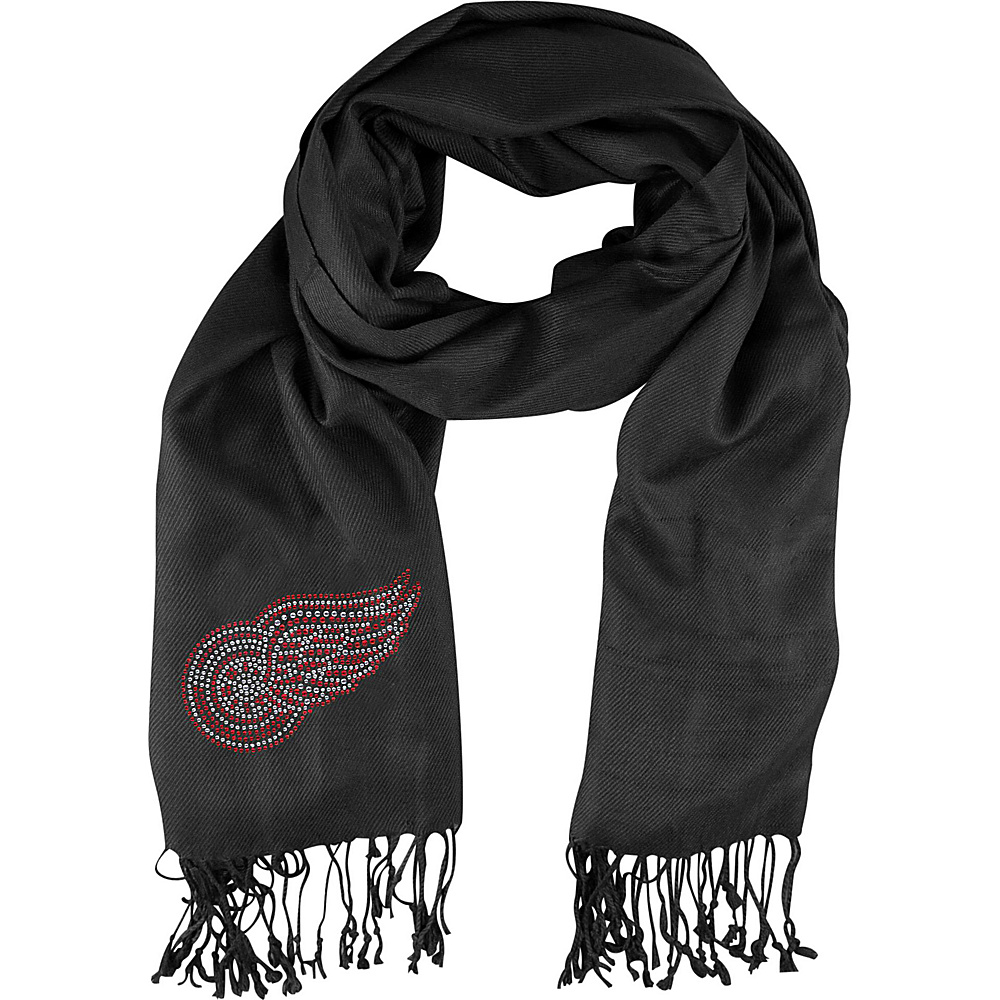 Littlearth Pashi Fan Scarf - NHL Teams Detroit Red Wings - Littlearth Hats/Gloves/Scarves - Fashion Accessories, Hats/Gloves/Scarves