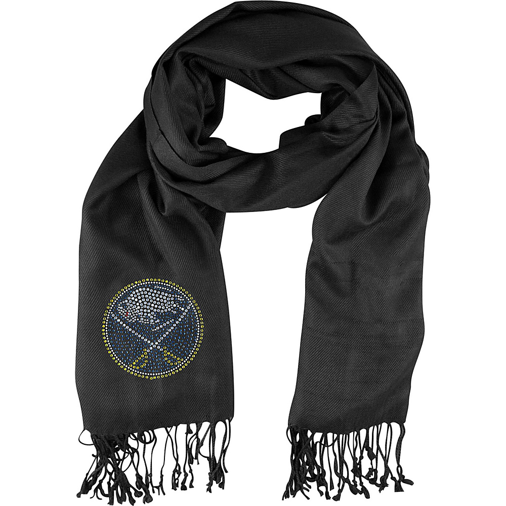 Littlearth Pashi Fan Scarf - NHL Teams Buffalo Sabers - Littlearth Hats/Gloves/Scarves - Fashion Accessories, Hats/Gloves/Scarves